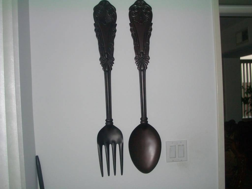 Giant Fork Decor – Ytepgedti38's Soup Pertaining To Most Recent Giant Fork And Spoon Wall Art (View 8 of 25)