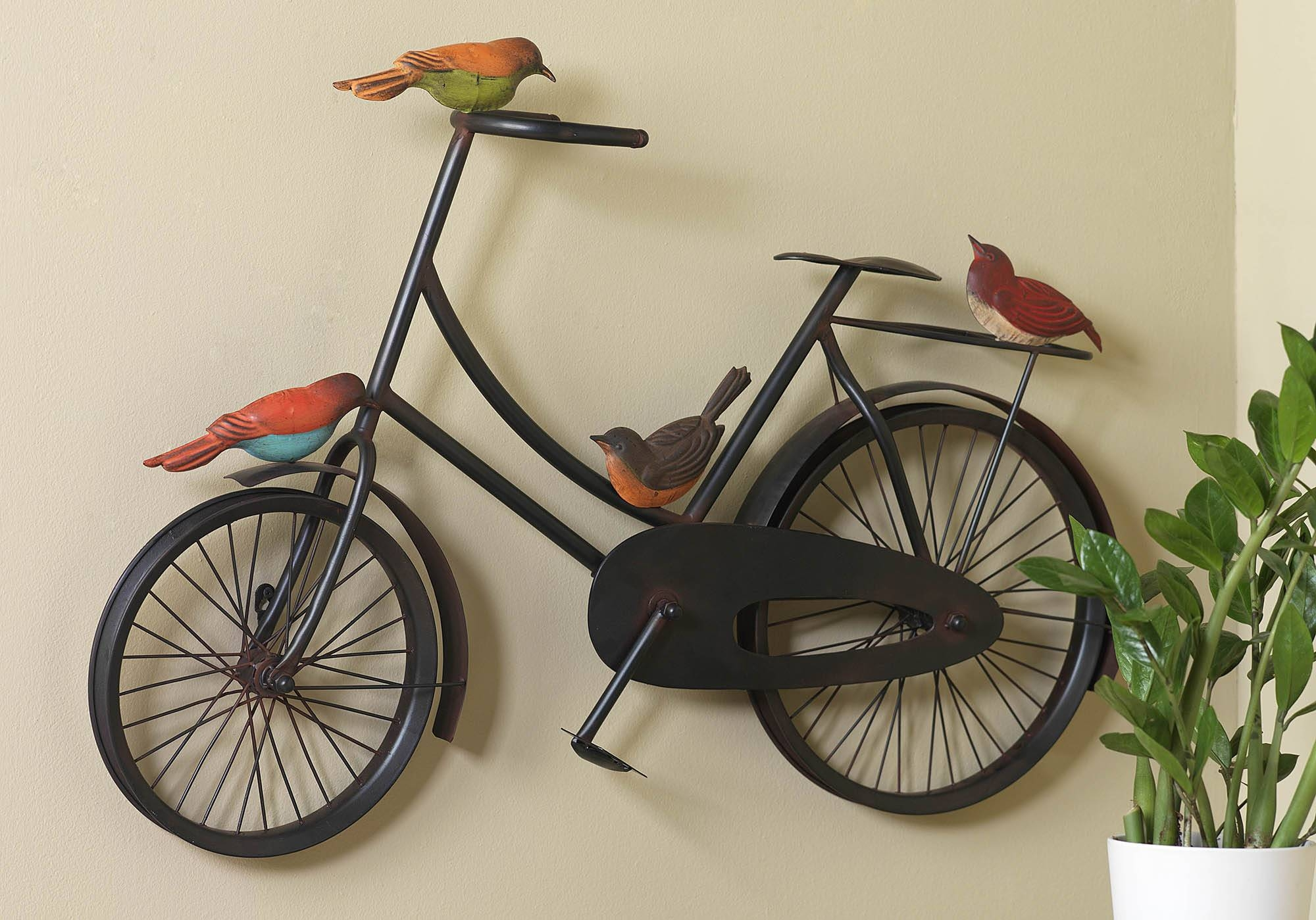 Glamorous 50+ Bicycle Wall Decor Inspiration Of Best 25+ Vintage Throughout Most Recent Bicycle Wall Art Decor (Gallery 5 of 20)