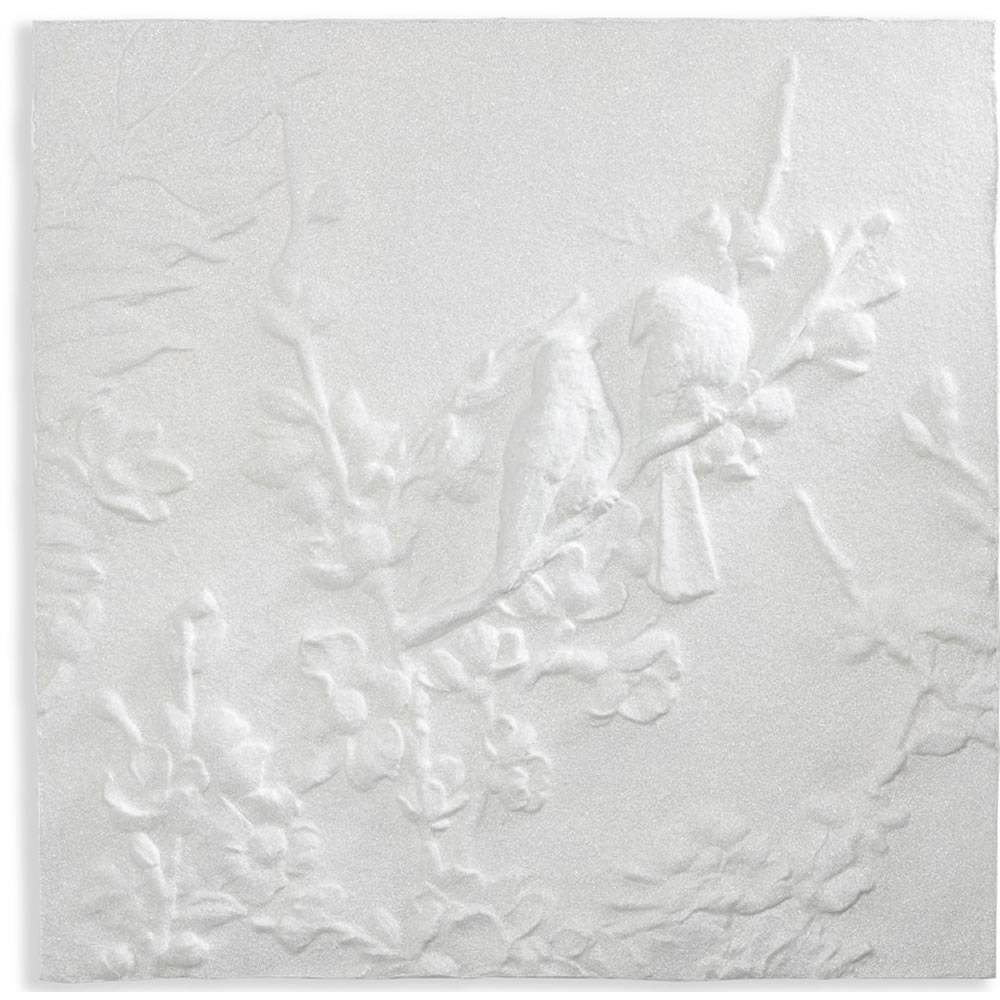 Glitterati Blossom And Birds 3D Wall Art 60 X 60Cm At Wilko Intended For Most Recent Blossom White 3D Wall Art (View 10 of 20)