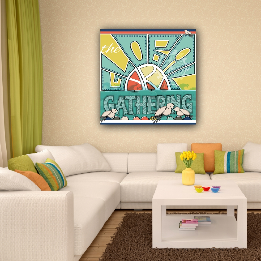 Global Art Gathering – Kids Art Canvas Panel Children's Decor Intended For Best And Newest Childrens Wall Art Canvas (Gallery 14 of 20)
