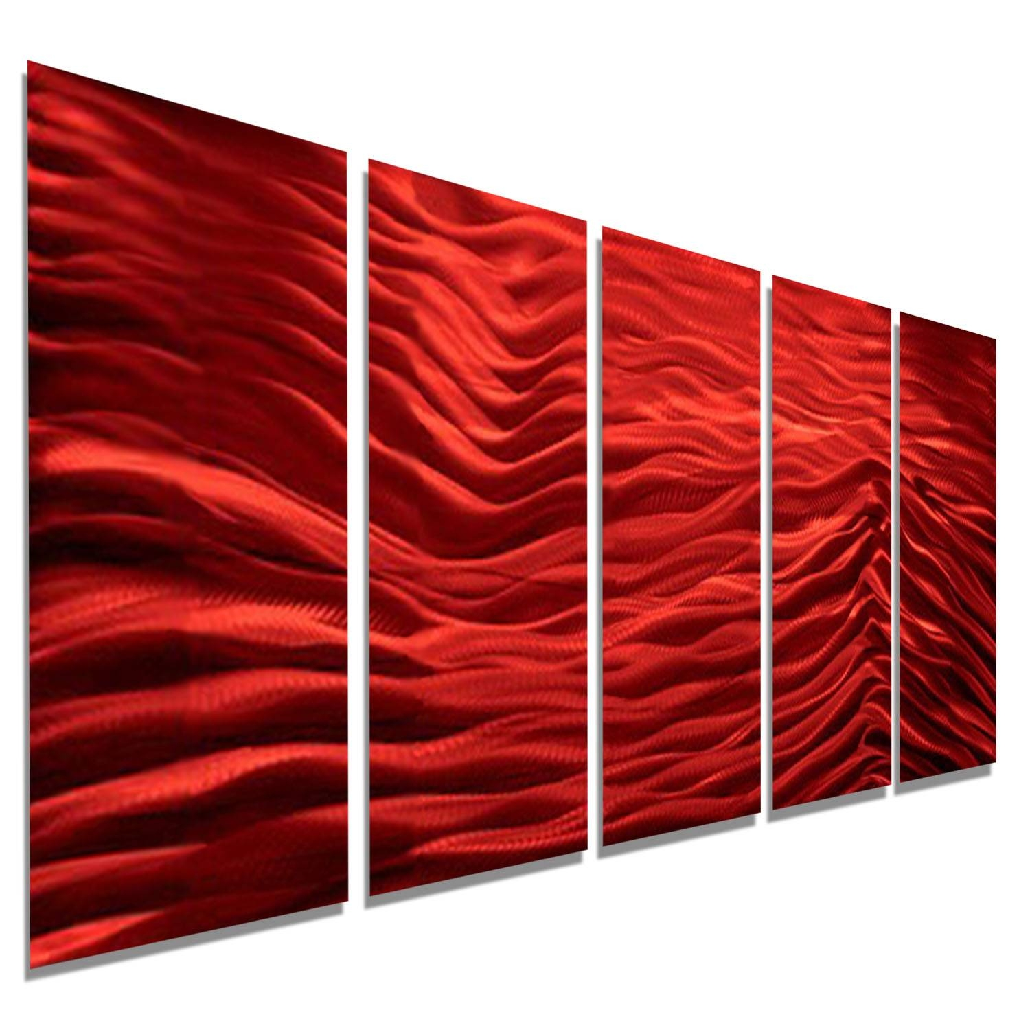 Gorgeous 10+ Red Metal Wall Art Decorating Design Of Red Twist In 2018 Ash Carl Metal Wall Art (View 14 of 30)