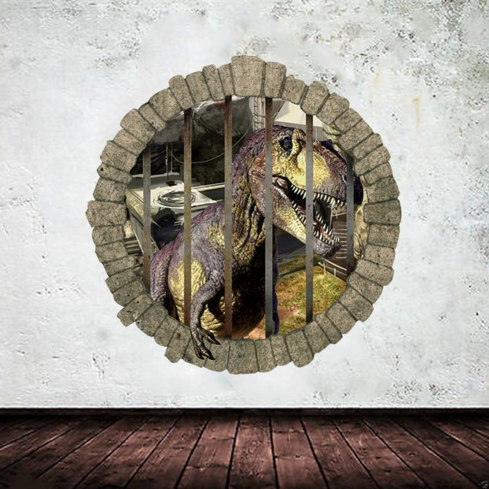 Gorgeous 20+ 3D Dinosaur Wall Art Decorating Inspiration Of For Newest Dinosaurs 3D Wall Art (View 14 of 20)