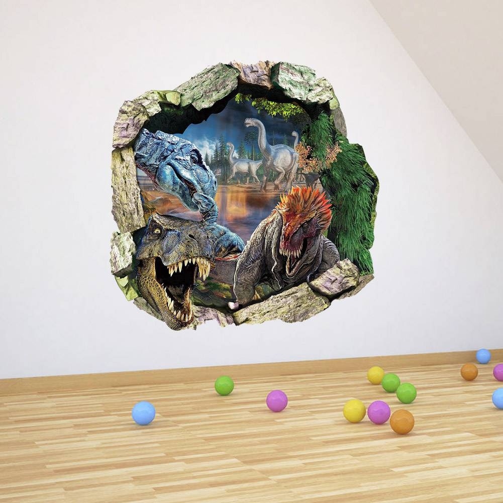 Gorgeous 20+ 3D Dinosaur Wall Art Decorating Inspiration Of Regarding Current Dinosaurs 3D Wall Art (View 16 of 20)