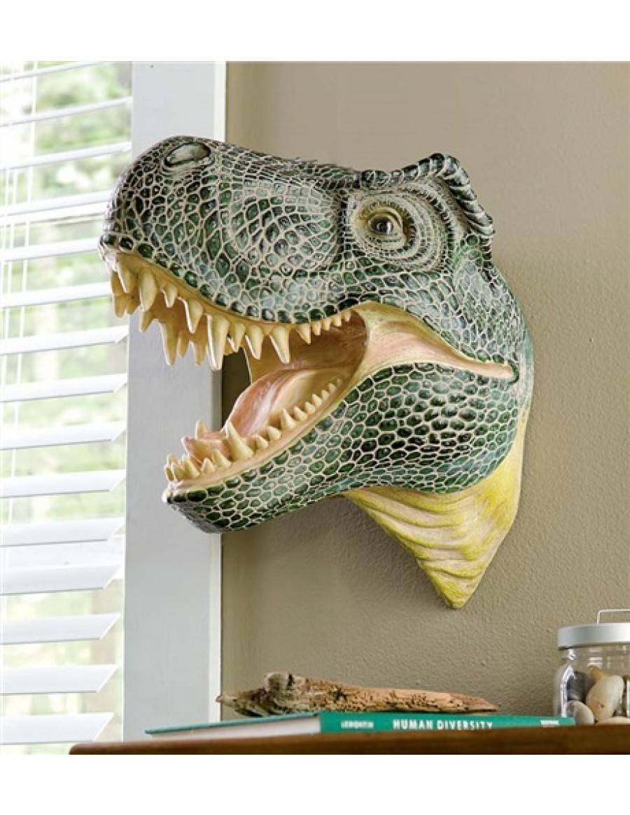 Gorgeous 20+ 3D Dinosaur Wall Art Decorating Inspiration Of With Most Current Dinosaurs 3D Wall Art (View 17 of 20)