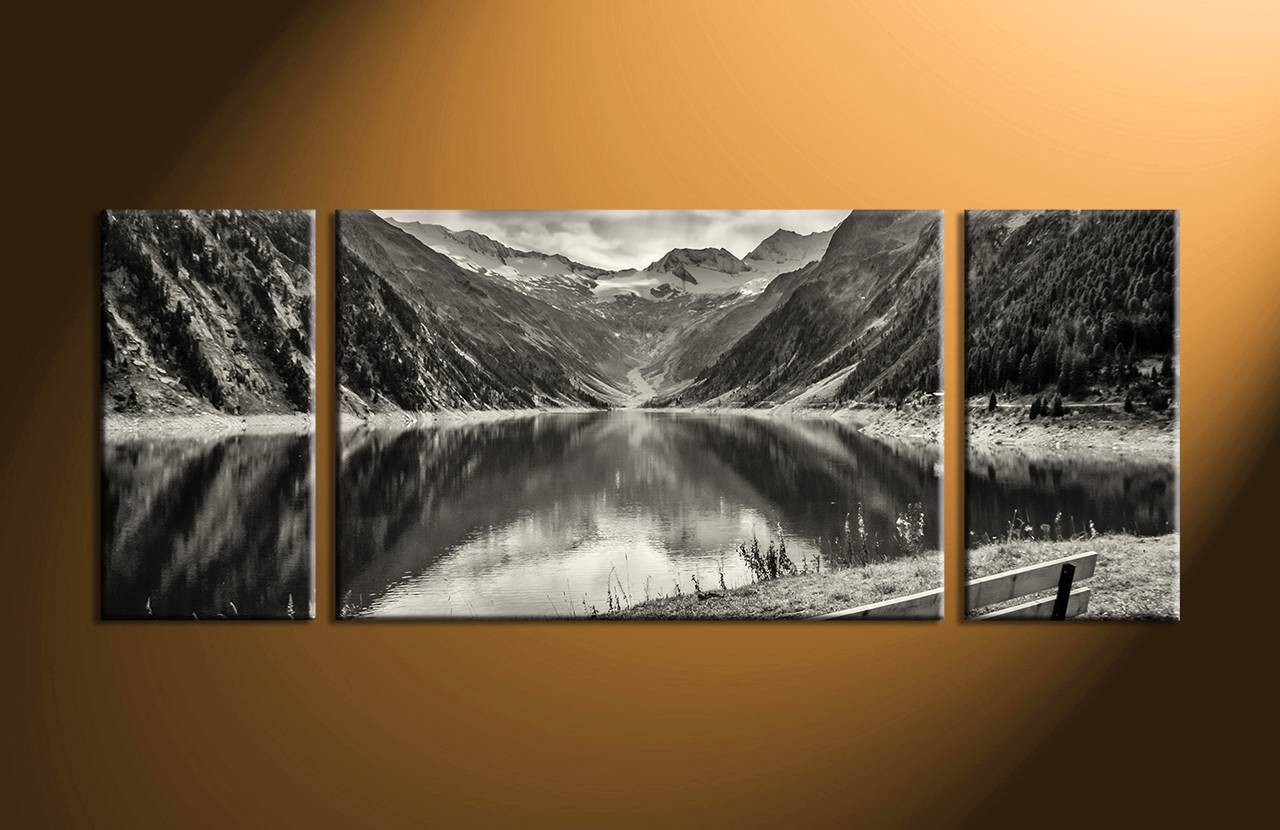 Gorgeous 3 Piece Canvas Wall Art Beach Home Decor Piece Wall 3 With Regard To Most Current Three Piece Wall Art Sets (Gallery 9 of 15)