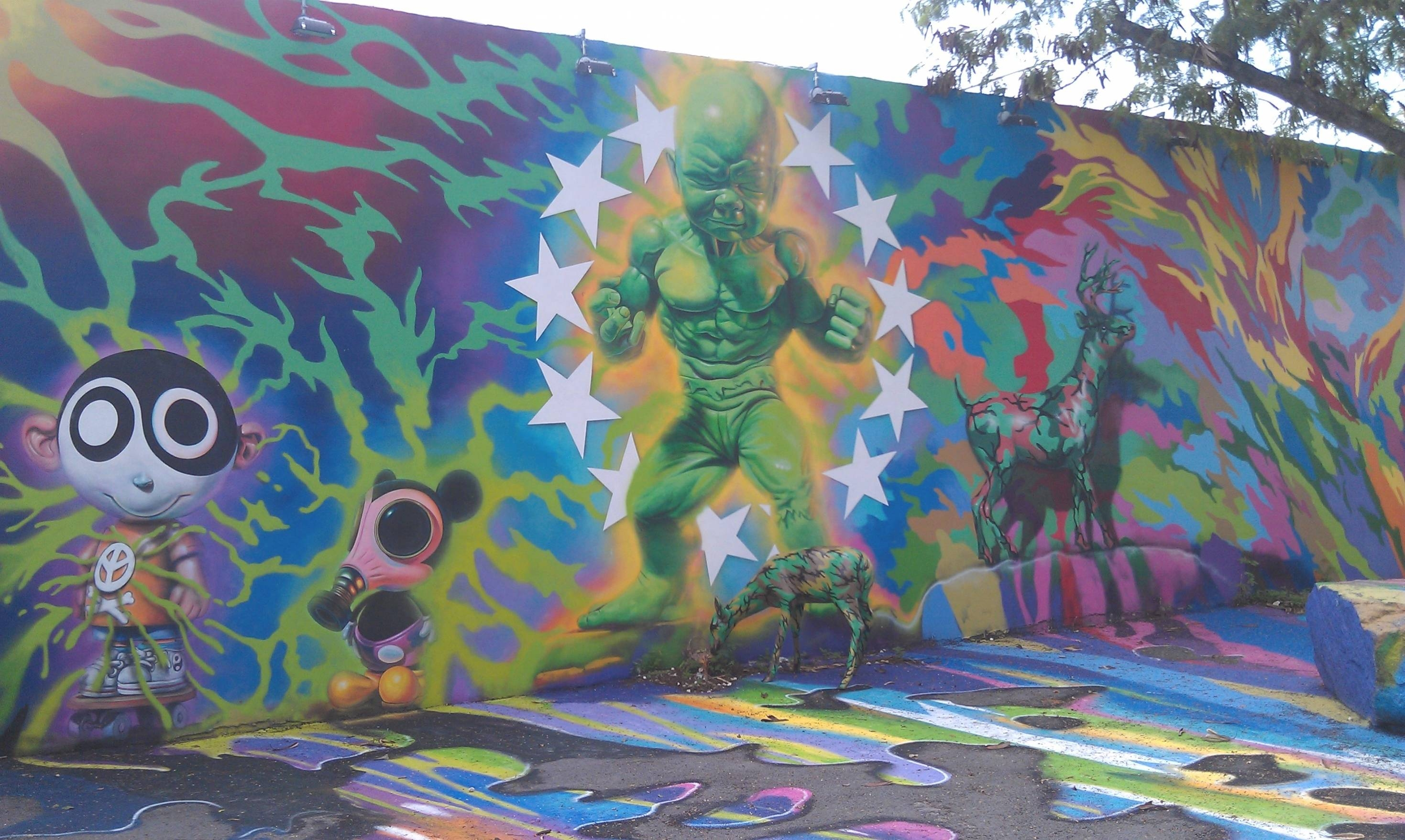 Gorgeous 60+ Miami Wall Art Inspiration Design Of Street Art In Inside Current Miami Wall Art (View 9 of 20)