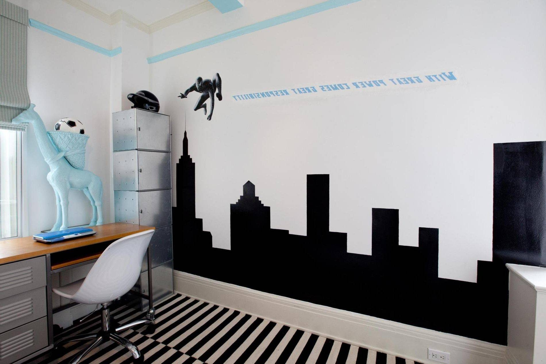 Graffiti Wall Art Names | Bedroom Graffiti Mural Room Wallpaper In Latest Graffiti Wall Art Stickers (Gallery 24 of 30)