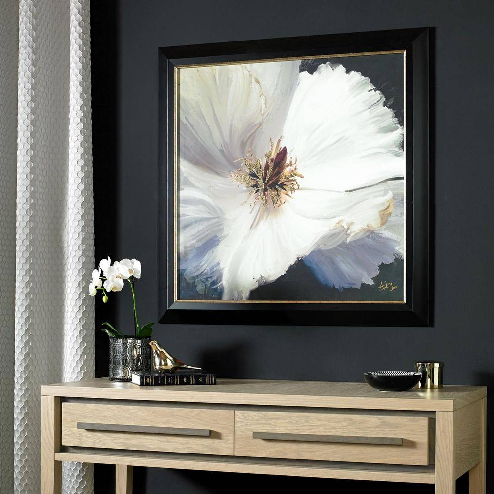"Graham And Brown 31 In. X 31 In. ""glamour Floral"" Printed Framed Pertaining To 2018 Graham & Brown Wall Art (Gallery 11 of 20)"