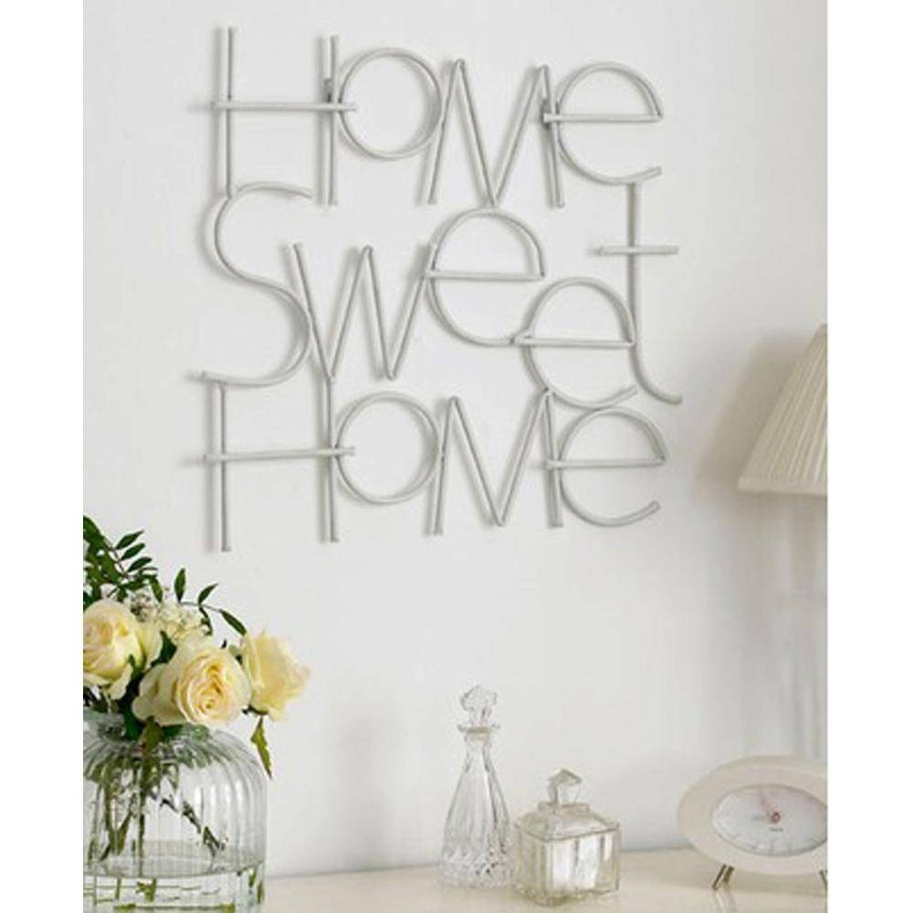 "Graham And Brown ""sweet Home""graham And Brown Metal Wall Art With Regard To 2017 Graham & Brown Wall Art (View 9 of 20)"
