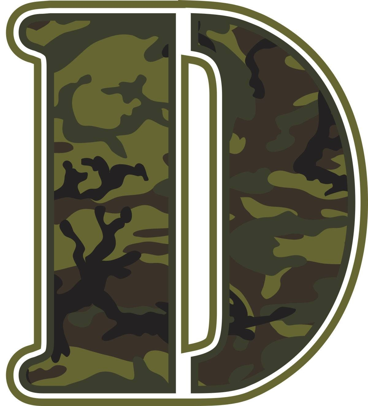 Green Camo Wall Letters | Potty Training Concepts In Most Up To Date Camouflage Wall Art (View 14 of 20)
