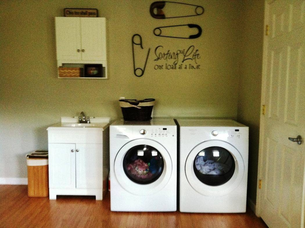 Guide To Laundry Room Decor Everyone Should Know | The Latest Home For Best And Newest Laundry Room Wall Art (View 25 of 30)