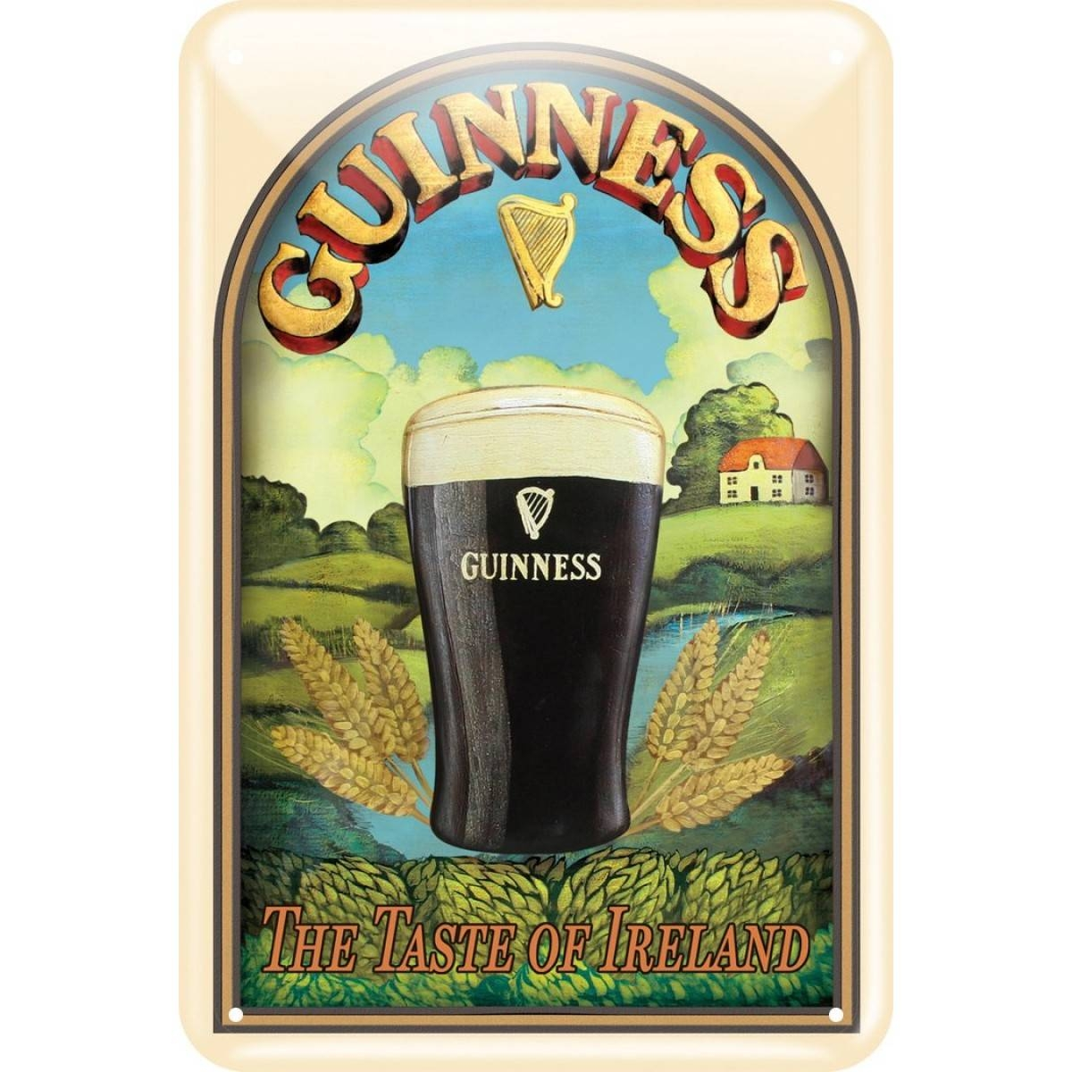Guinness® Taste Of Ireland Wall Art Within Most Popular Ireland Metal Wall Art (View 6 of 20)