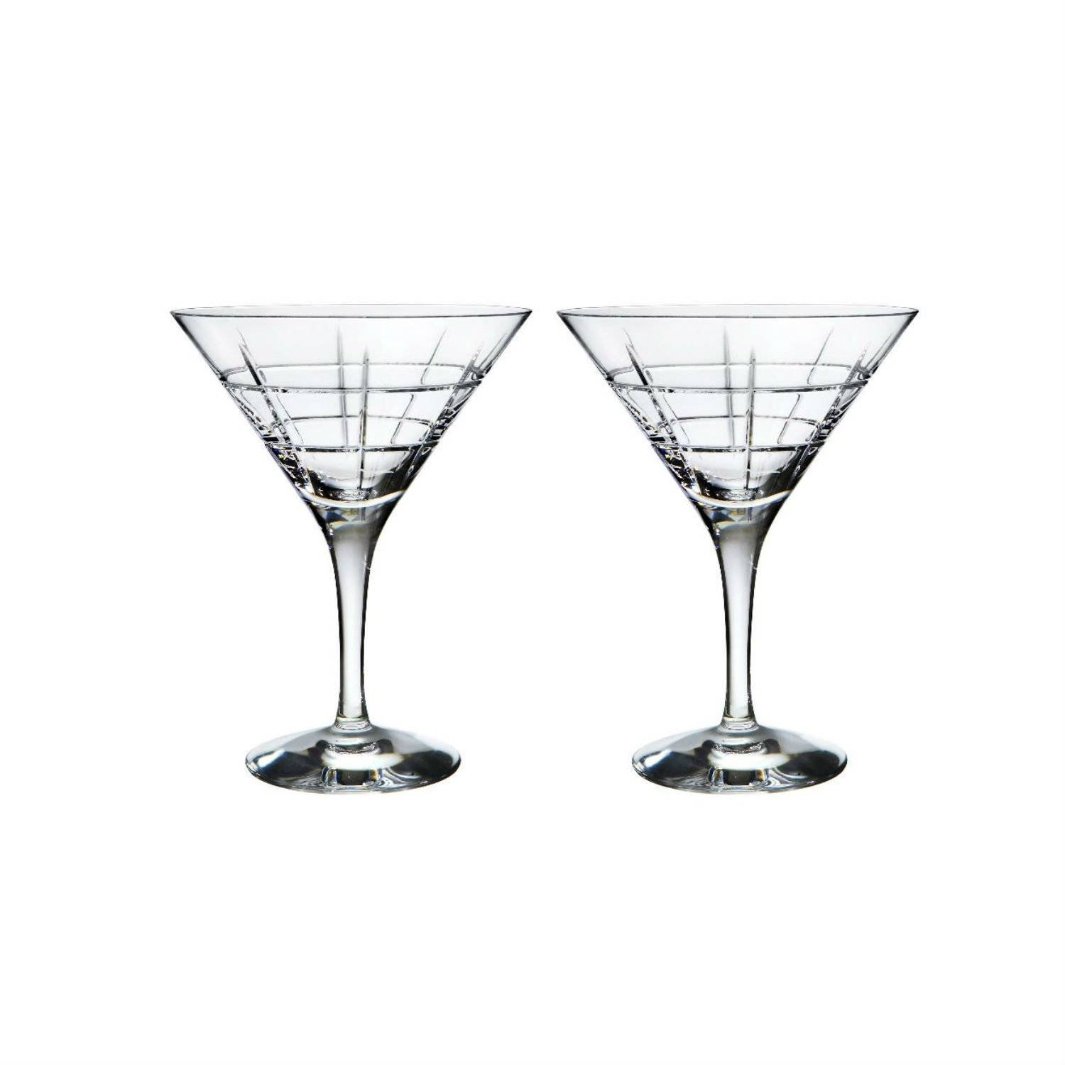 Hand Blown Crystal Martini Glasses (Set Of 2) – Trnk Within Most Up To Date Martini Glass Wall Art (View 16 of 30)