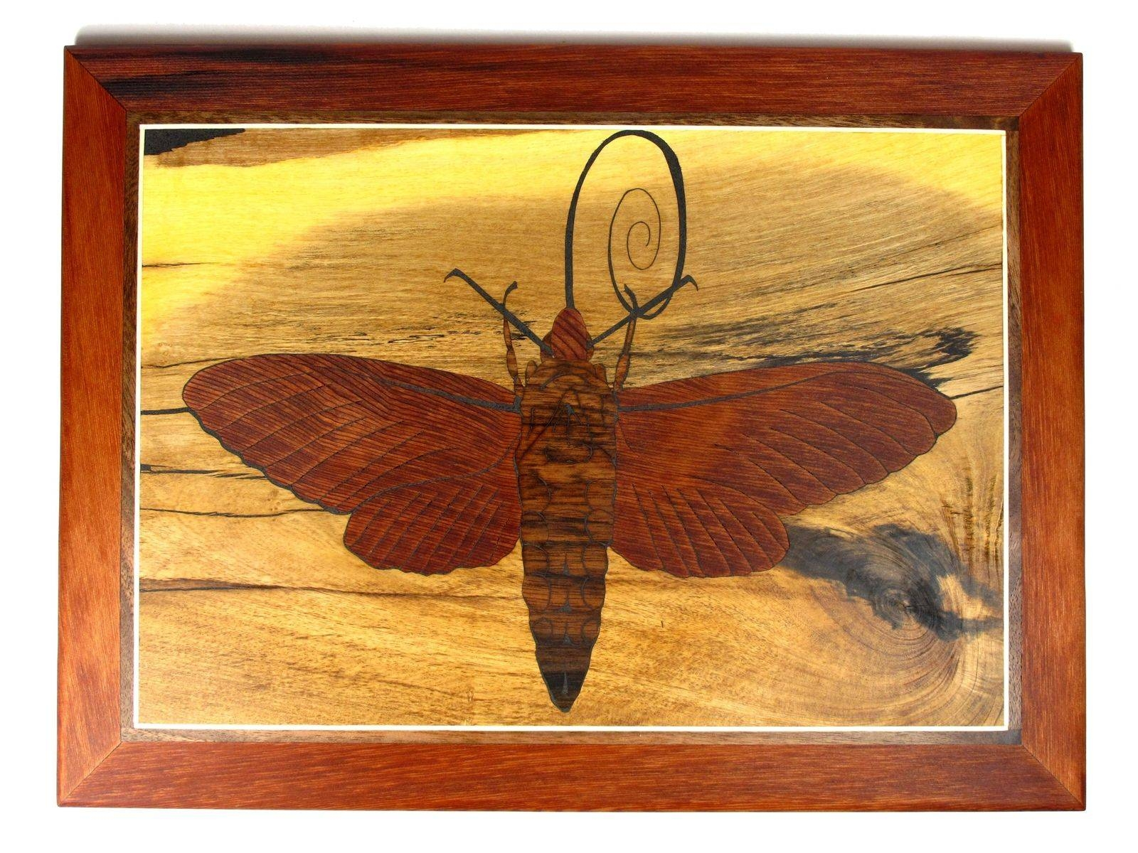 Hand Made Insect Wall Art In Reclaimed Woodsierra Woodcraft Pertaining To Most Recent Insect Wall Art (Gallery 12 of 30)