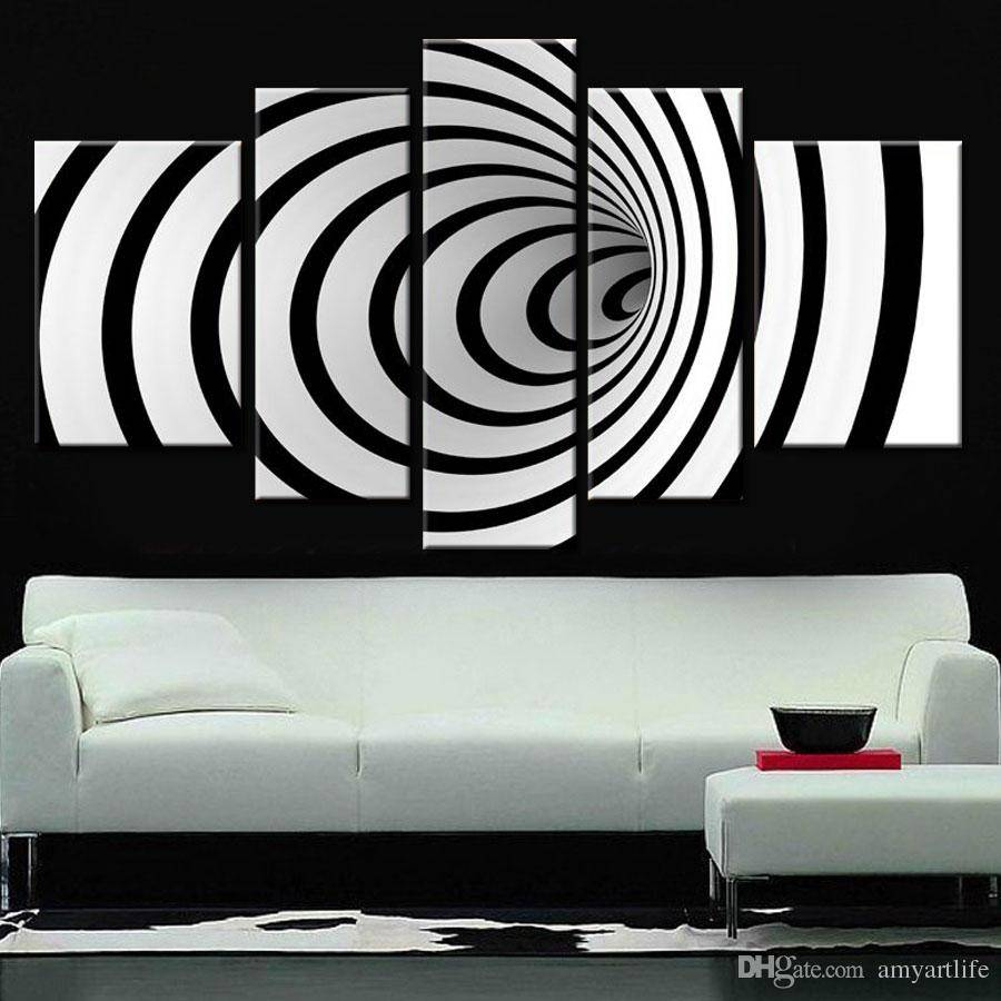 Hand Painted Ideas Modern Canvas Art Picture Future Wall Art 3D With Most Up To Date Venezuela Wall Art 3D (Gallery 8 of 20)