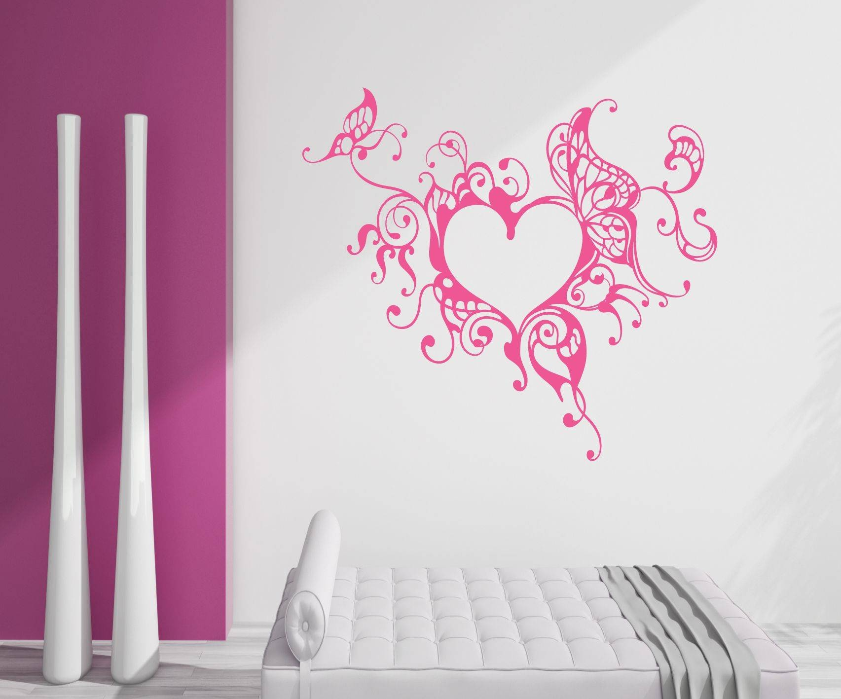 Heart Wall Decoration Shocking Diy How To Make Simple 3D Heart Inside Newest Heart 3D Wall Art (Gallery 13 of 20)