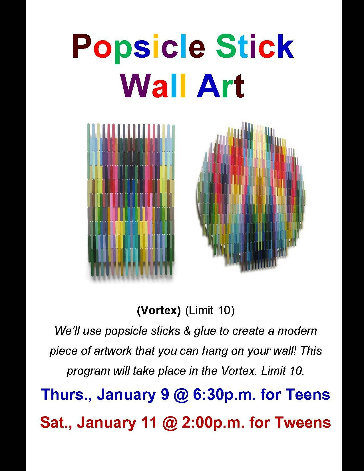 Hey Teens And Tweens, There's Still Room To Sign Up For Our Within Recent Wall Art For Teenagers (Gallery 14 of 25)