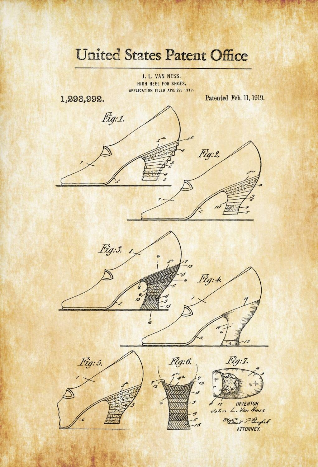 High Heel Shoes Patent – Shoe Decor, Girls Room Wall Art, Fashion Within 2018 Wall Art For Girls (View 13 of 20)