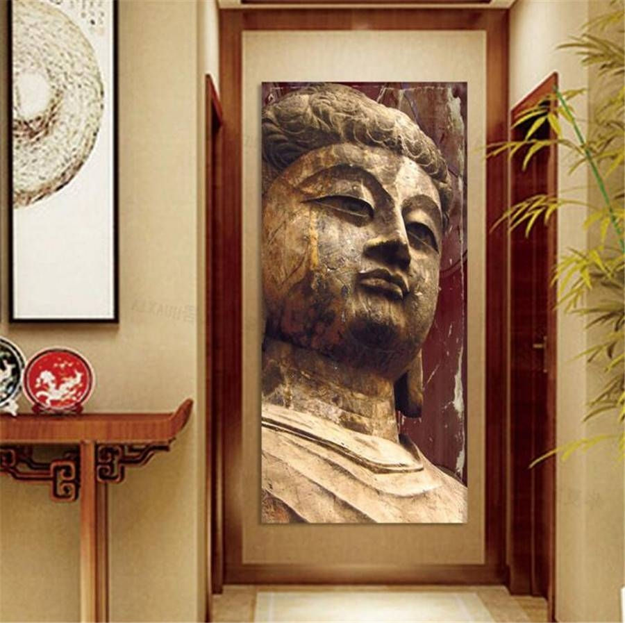 High Quality Painting Wall Art Religion Buddha Image Painting On Throughout Current 3d Buddha Wall Art (View 8 of 20)