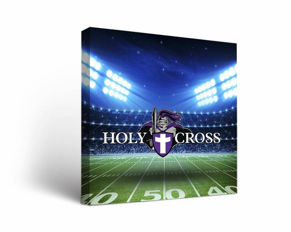 Holy Cross Crusaders Stadium Canvas Wall Art Inside Best And Newest Electronic Wall Art (View 13 of 25)