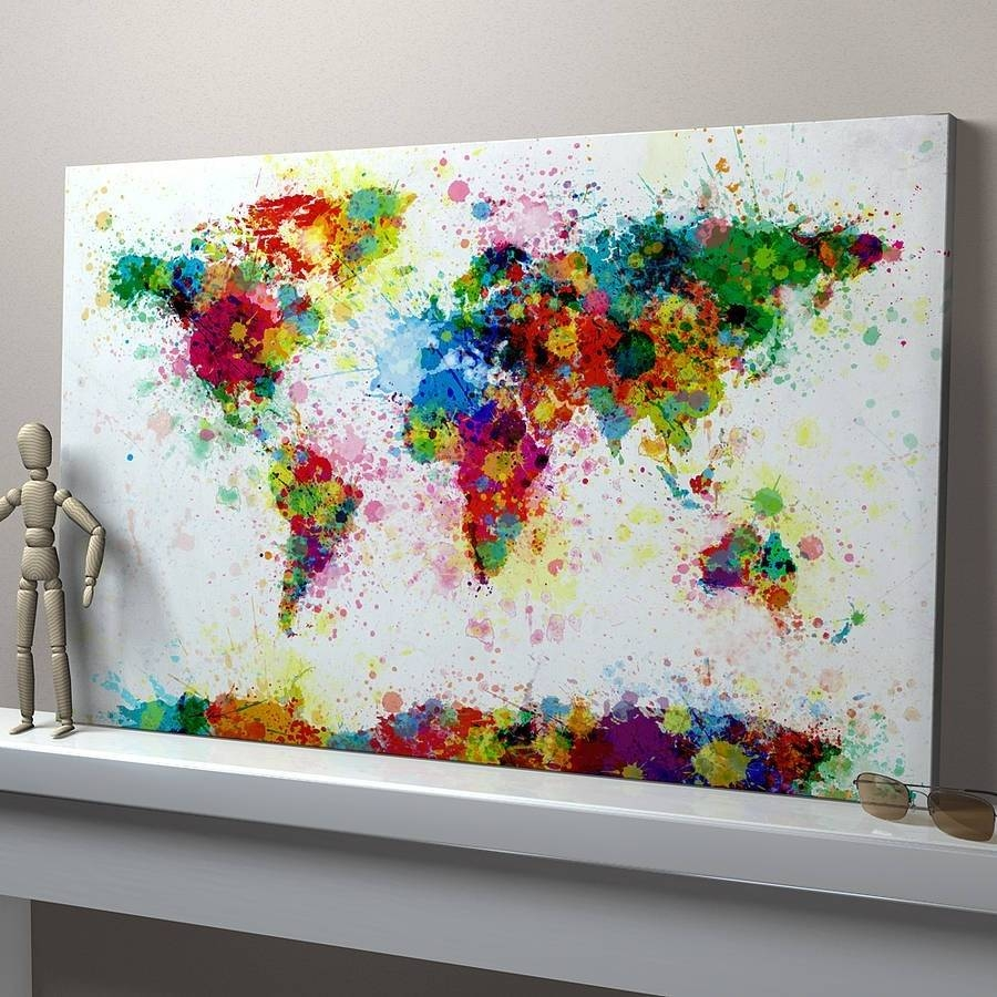 Home Decor: Fetching Art On Canvas Plus Learn The Basics Of Canvas With Most Recently Released Small Canvas Wall Art (View 17 of 20)