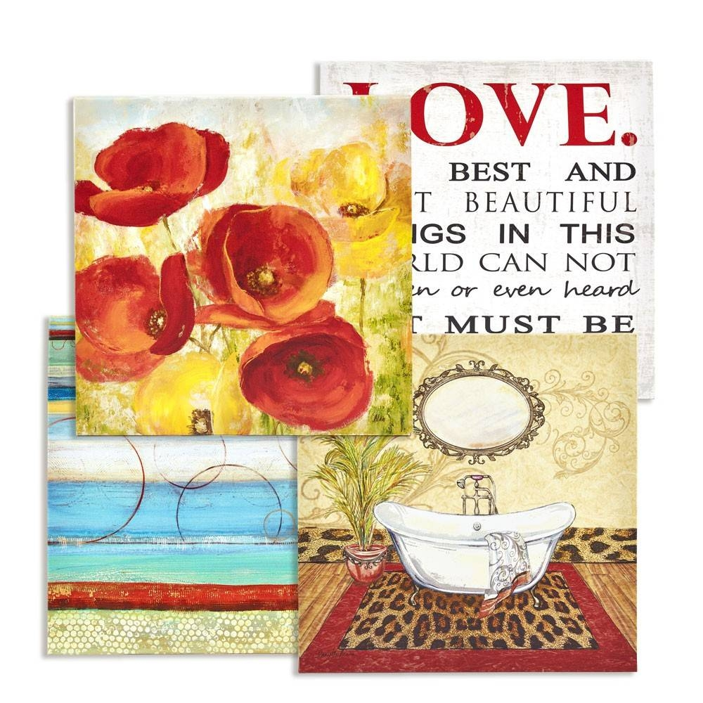 Home Décor Items, Accents & Inspirational Ideas – Save Up To 65% | Otp With Recent Martini Glass Wall Art (View 17 of 30)