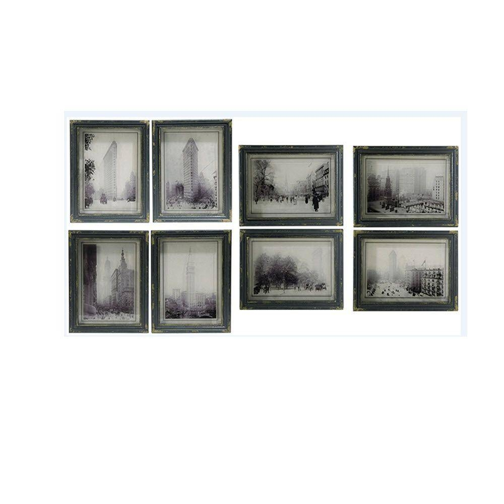 Home Decorators Collection Distressed Black City Scenes Wall Art Pertaining To Best And Newest Black And White Framed Wall Art (View 11 of 20)
