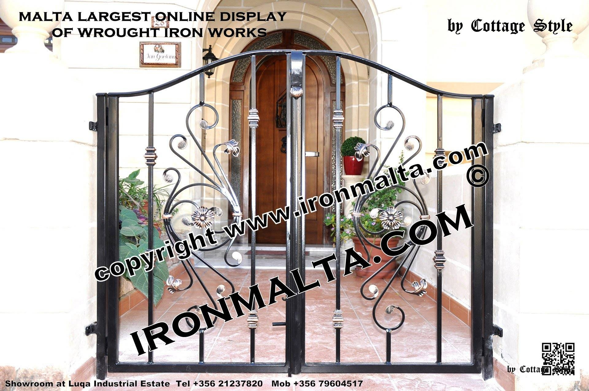 Home Front Wall Iron Gates Design Ideas Malta, Remodel And Decor Pertaining To 2017 Metal Gate Wall Art (View 7 of 32)