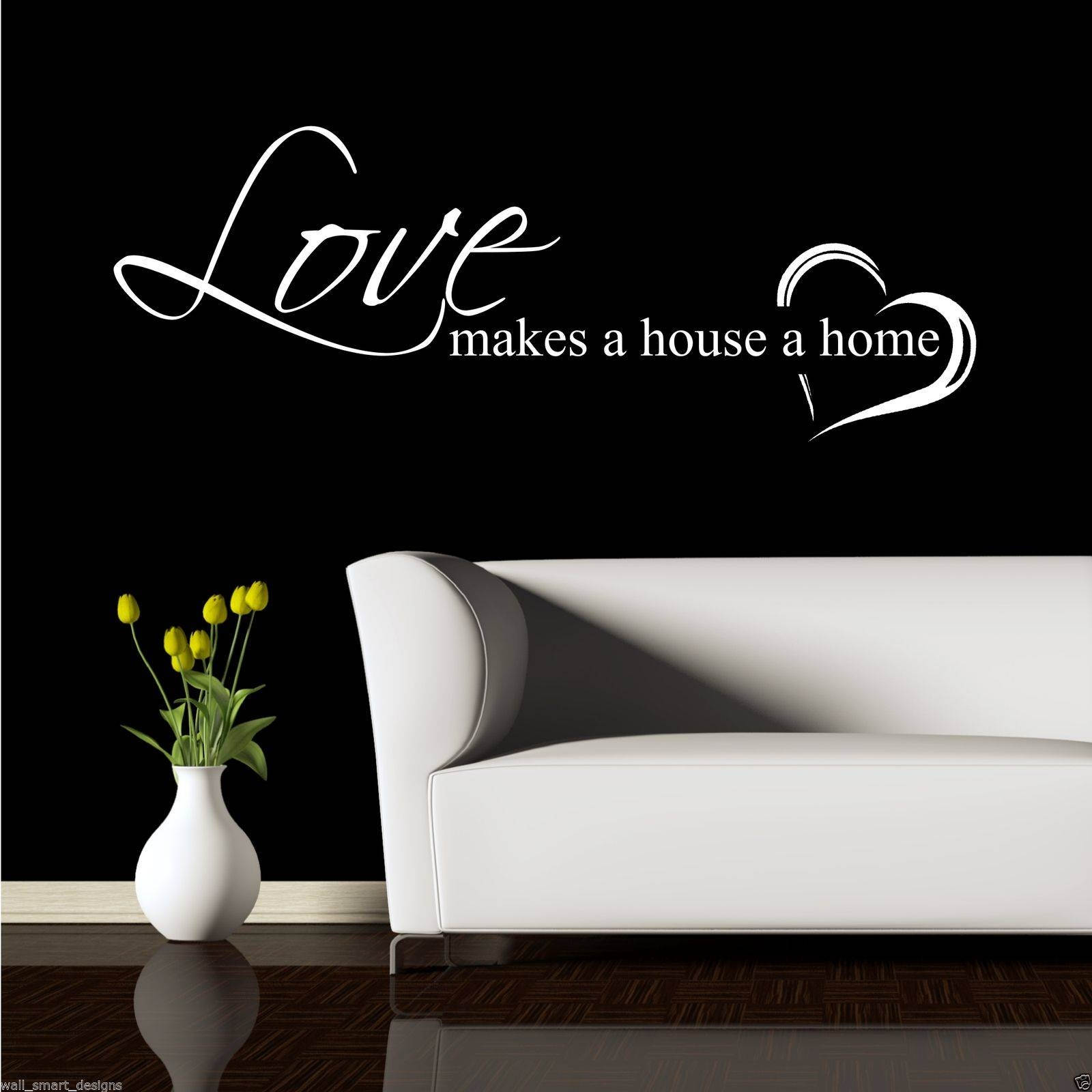 Home Love Family Wall Art Sticker Quote Decal Mural Transfer Intended For 2018 Love Wall Art (View 5 of 20)