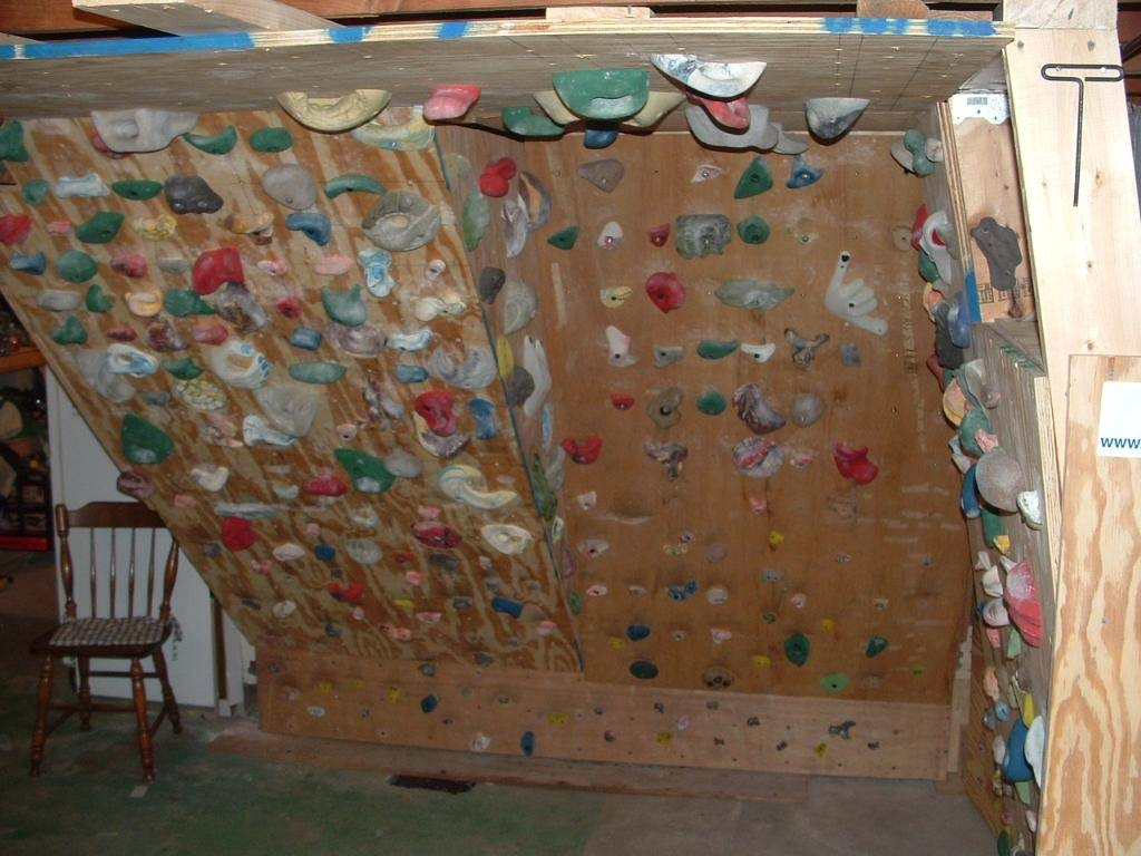 Home Rock Climbing Wall Design Awesome Home Climbing Walls Inside Current Home Bouldering Wall Design (View 3 of 20)