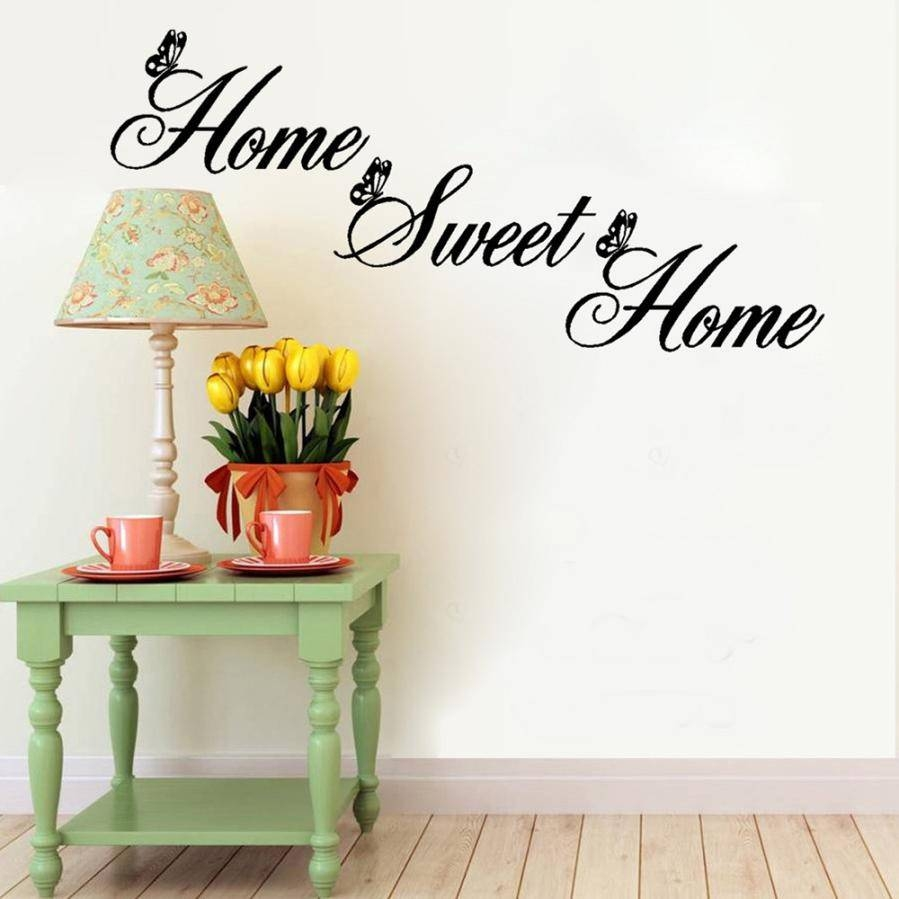 Home Sweet Home Wall Art – Interior Design Throughout Most Current Twiggy Vinyl Wall Art (View 15 of 20)
