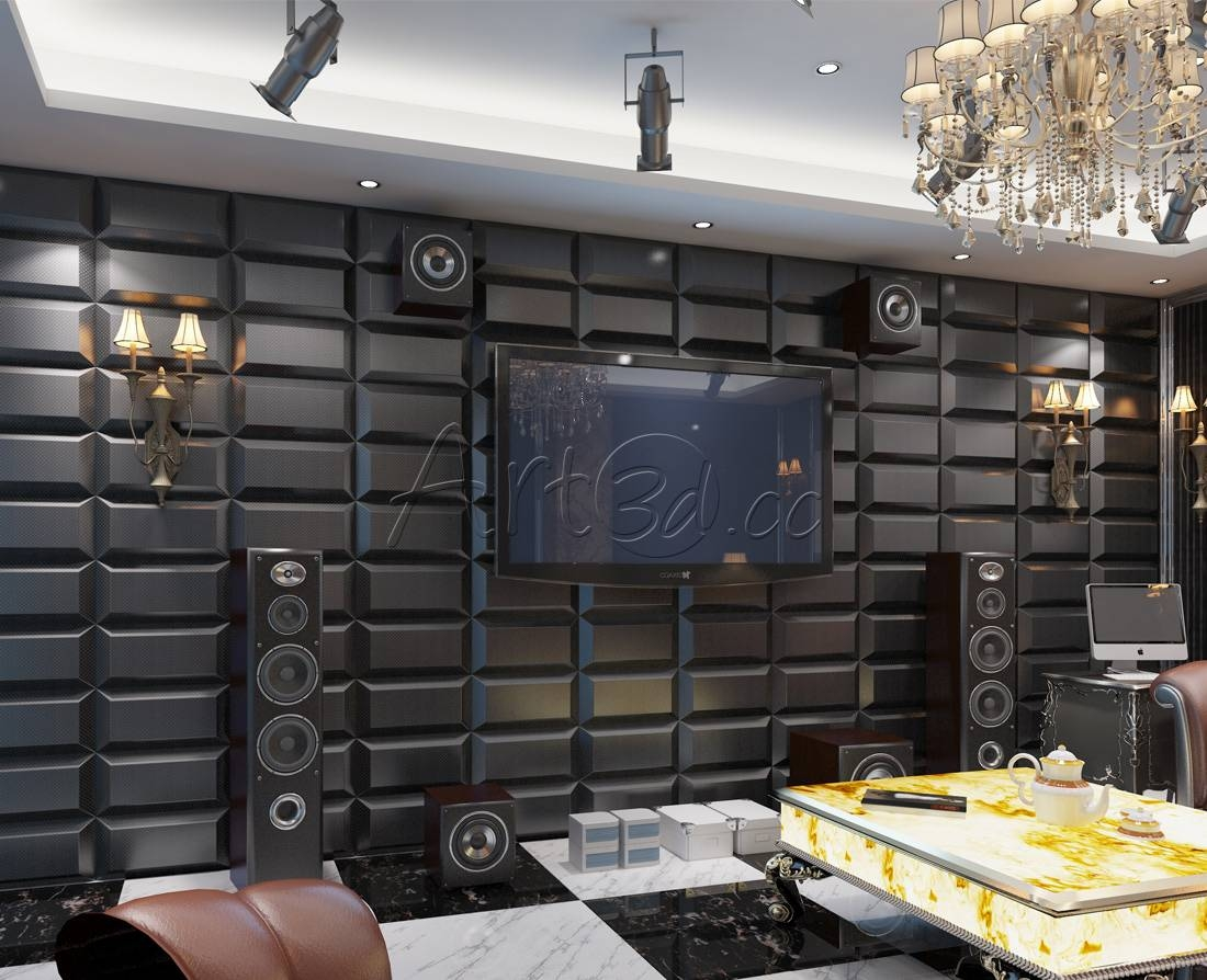 Home Theatre Wall Ideas Gallery Of Art Home Theater Wall Decor In Current Home Theater Wall Art (View 14 of 30)