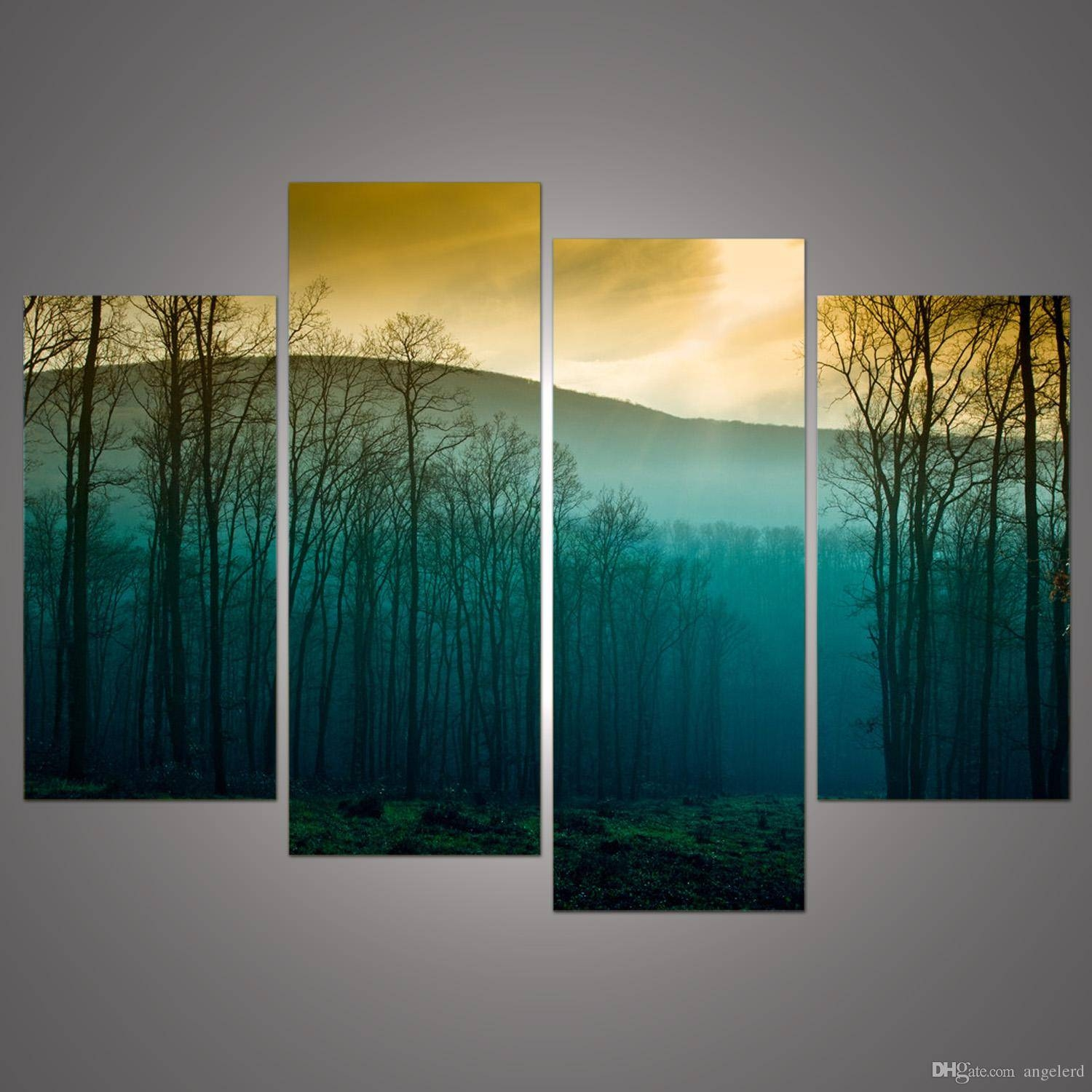 Hot Sale! Modern Abstract Huge Wall Art Painting On Canvas With Regard To Recent Huge Wall Art (View 9 of 20)