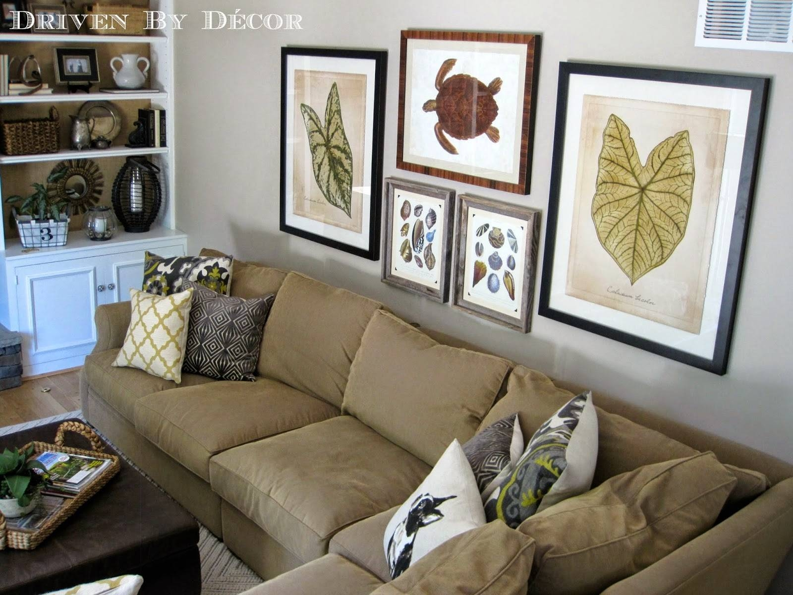 House Tour: Family Room | Drivendecor Throughout Most Up To Date Wall Art Decor For Family Room (View 13 of 20)