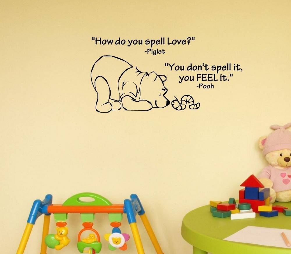 How Do You Spell Love. Winnie The Pooh (View 3 of 20)