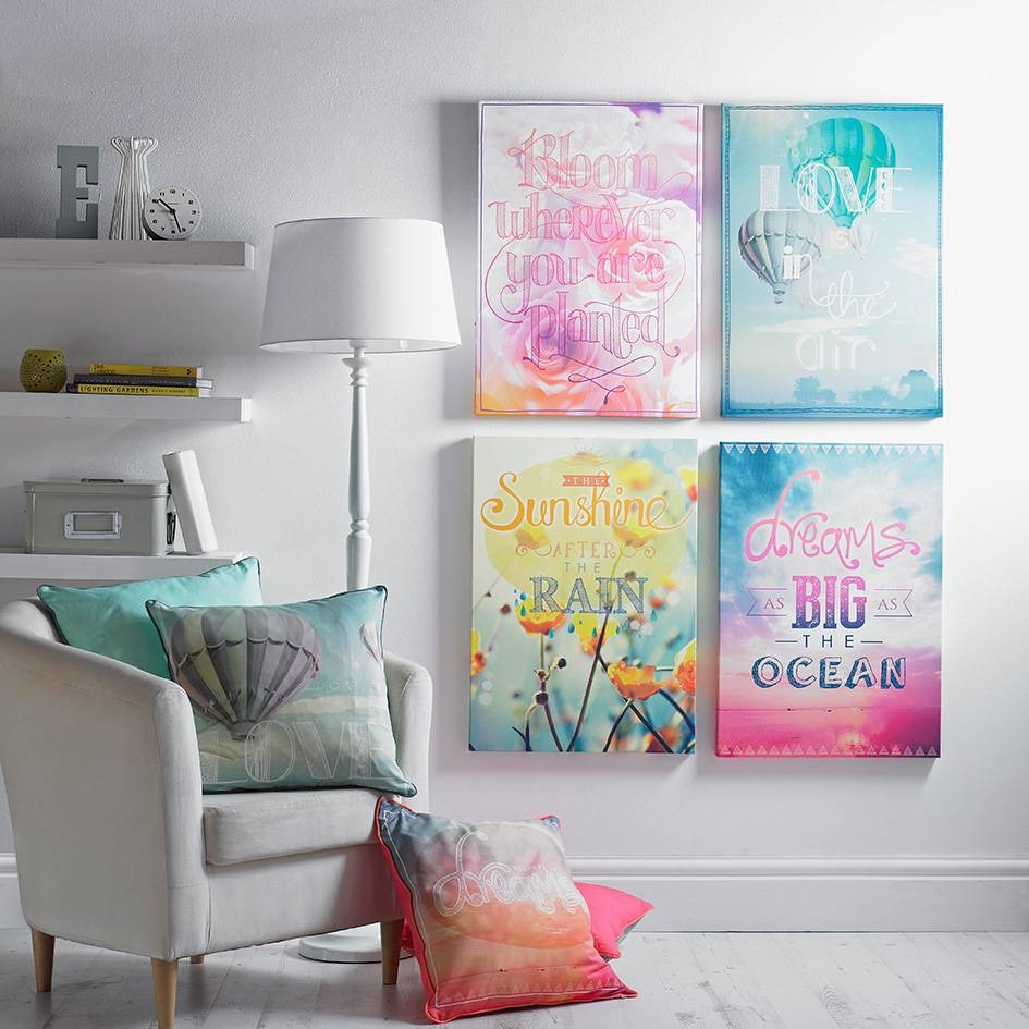 How To Decorate As A Family With Regard To Latest Matching Wall Art (View 8 of 20)