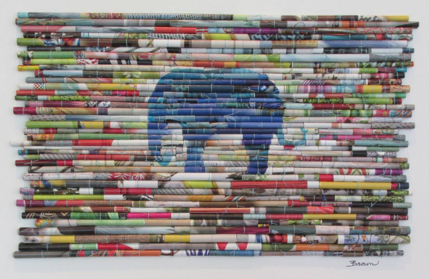 How To Recycle: Recycled Wall Art Designs Intended For Most Current Recycled Wall Art (Gallery 2 of 30)