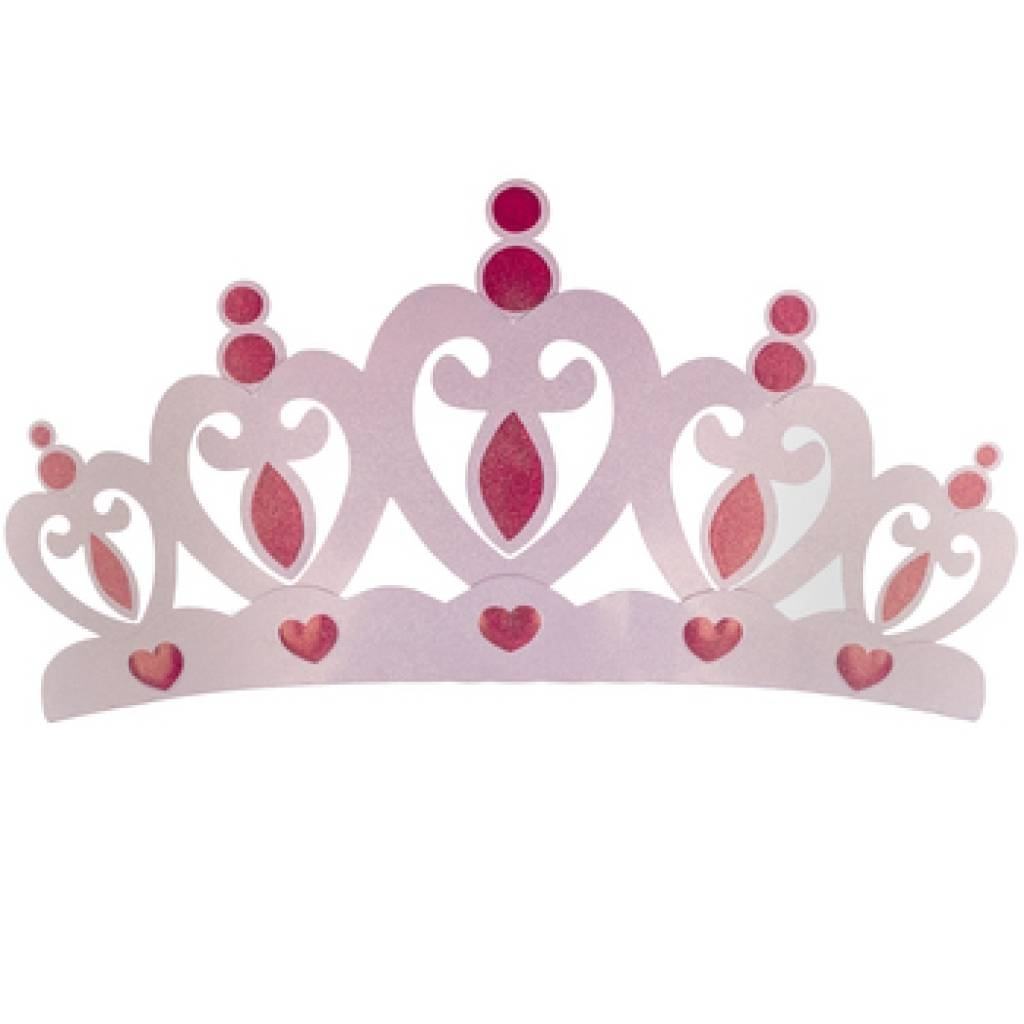 I Love This Totally!! Cream Pink Princess Crown 3D Wall Art Decor Intended For Most Up To Date Princess Crown Wall Art (View 13 of 25)