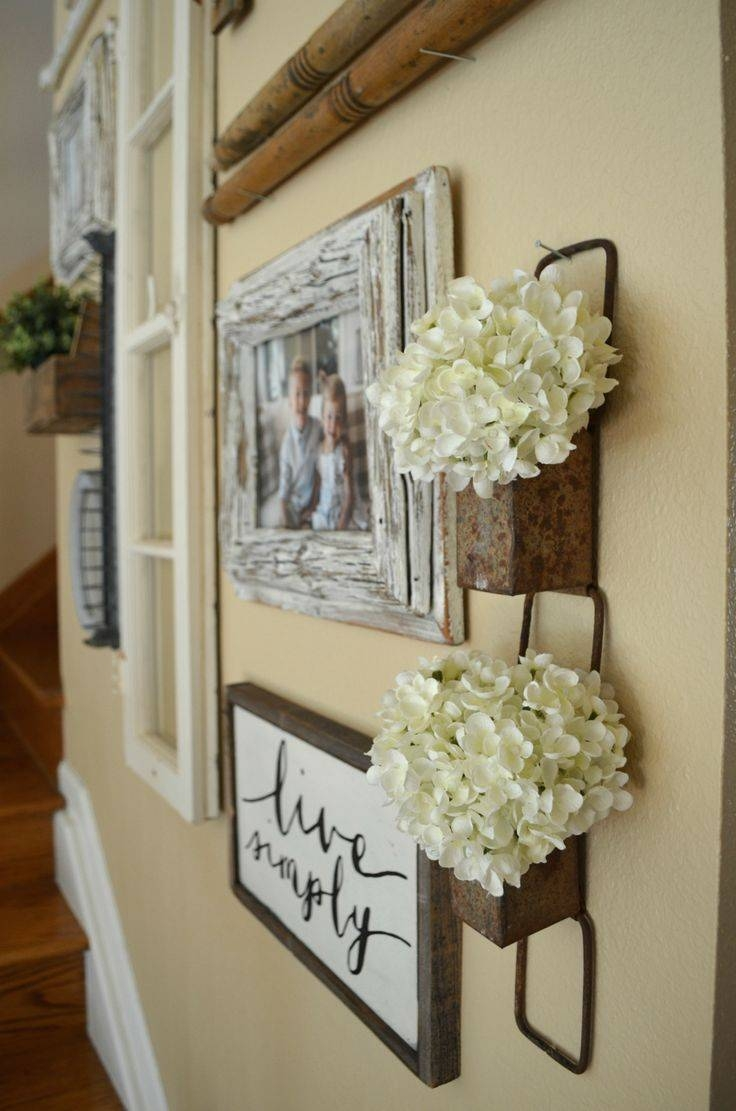 Ideas About Hallway Wall Decor Corner Of Including Art For With Newest Wall Art Ideas For Hallways (View 11 of 20)