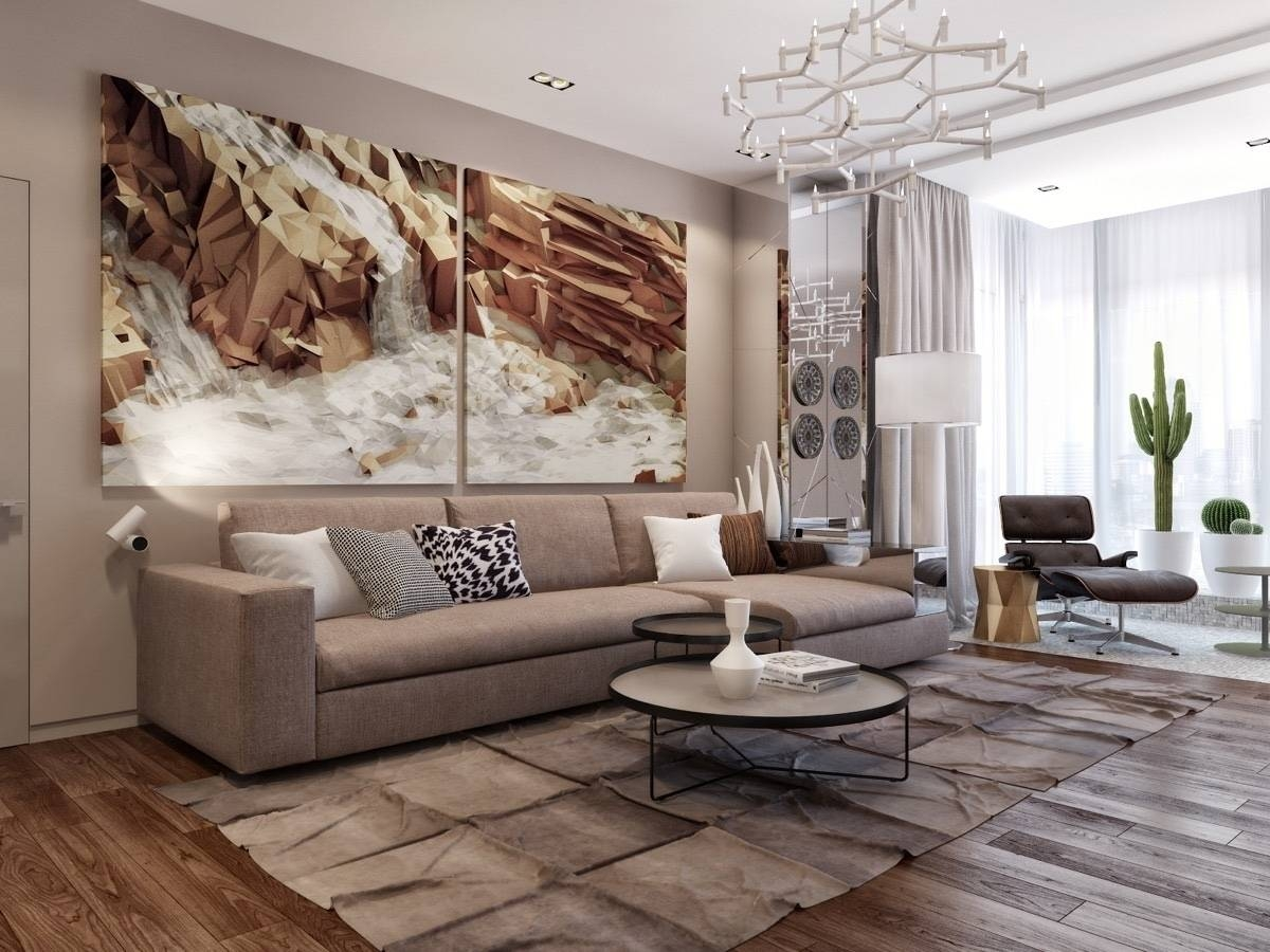 Best Art For Living Room: 20 The Best Wall Art For Living Room