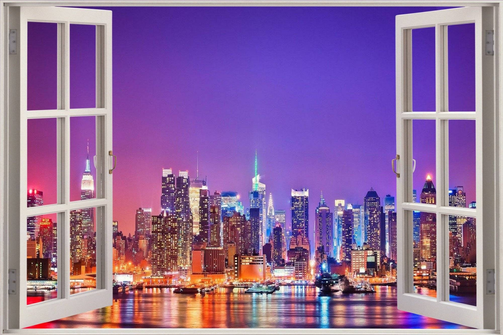 Images Of 3D Window New York – #sc With Regard To Recent New York 3D Wall Art (View 6 of 20)