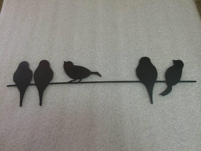 Imposing Design Bird Metal Wall Art Vibrant Birds On A Wire Metal In Latest Birds In Flight Metal Wall Art (View 15 of 30)