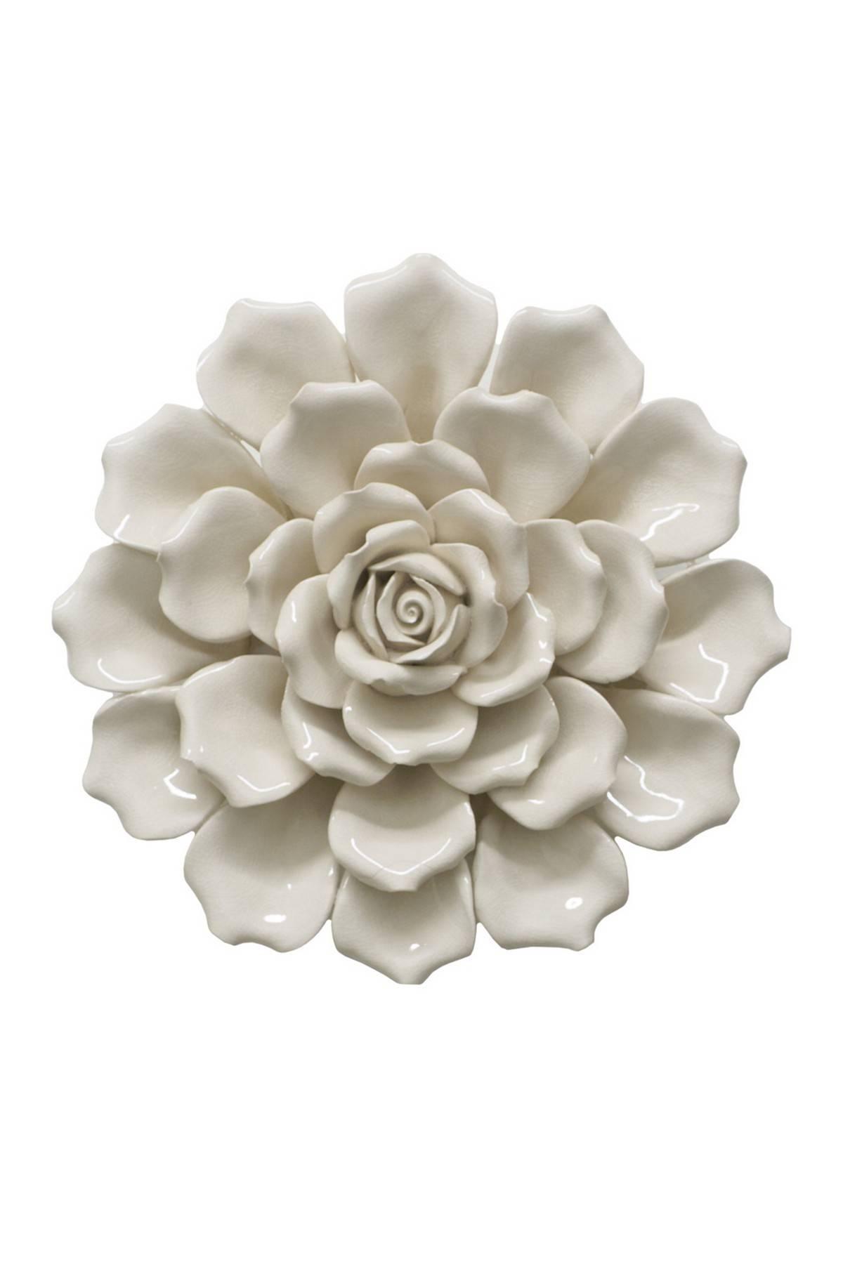 Imposing Ideas Ceramic Flower Wall Decor Spectacular Design Pertaining To Recent Ceramic Flower Wall Art (View 4 of 30)