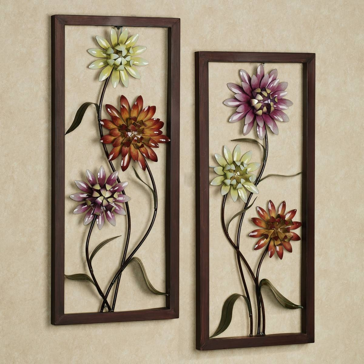 Impressive Ceramic Flower Wall Decor For Sale Ceramic Magnolia Inside Most Recently Released Ceramic Flower Wall Art (View 13 of 30)