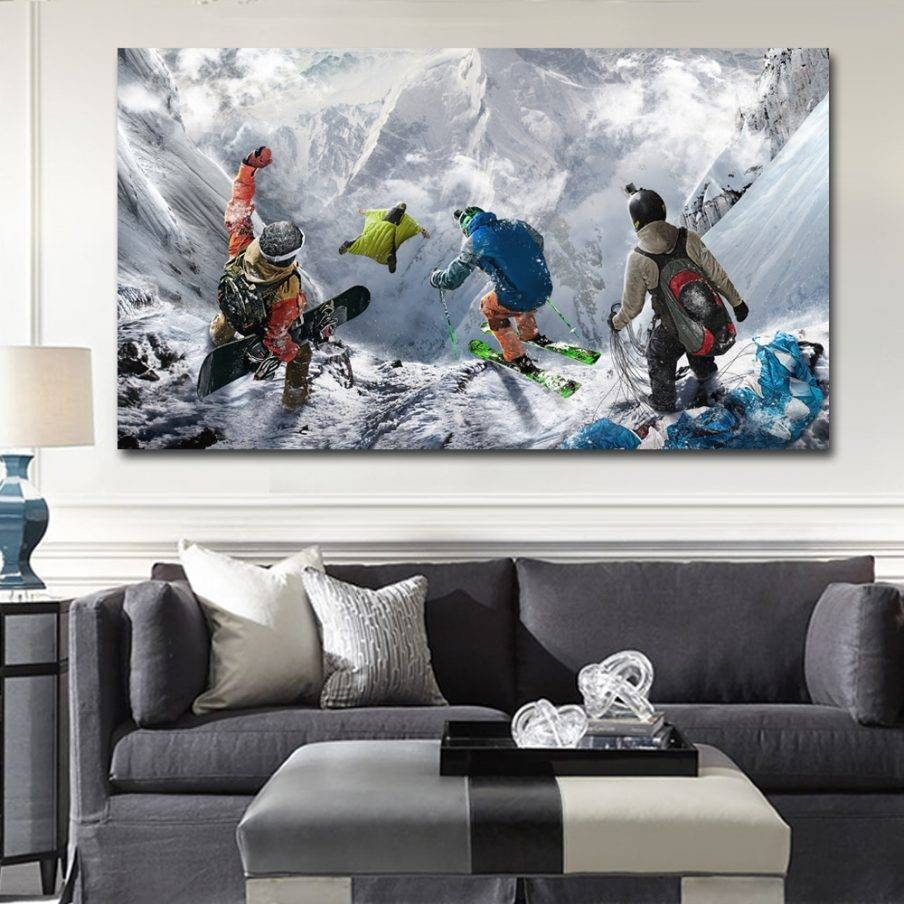 Impressive Winter Tree Metal Wall Art Winter Blooms I Canvas In Most Current Mountain Scene Metal Wall Art (Gallery 20 of 30)