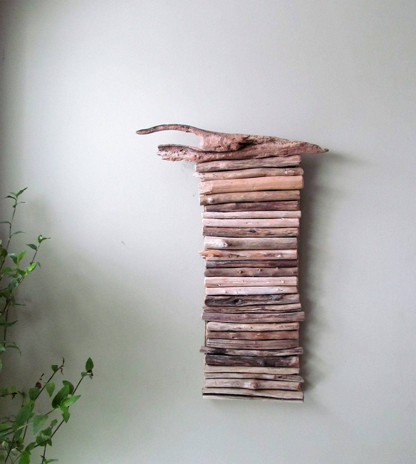 In Stock Driftwood Hanging Art Driftwood Wall Hanging Art For Recent Large Driftwood Wall Art (View 21 of 30)