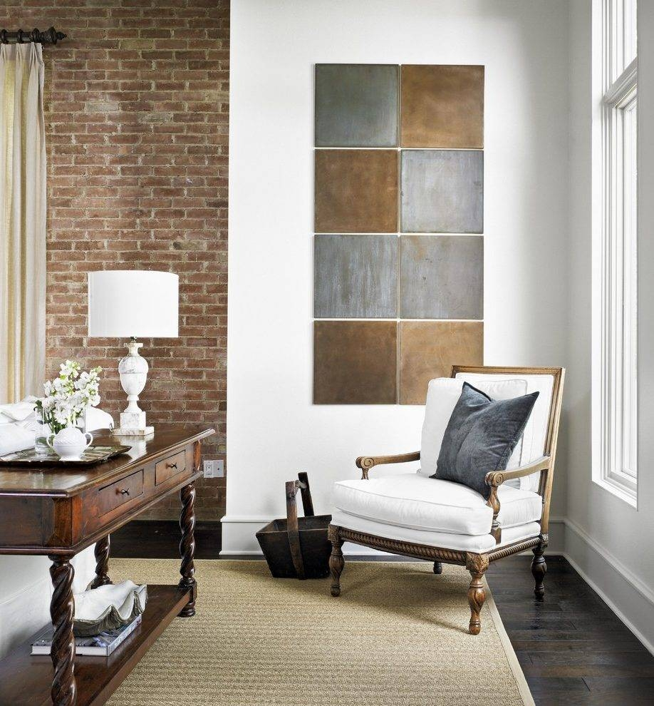 Industrial Wall Art Living Room Traditional With Table Lamp With Regard To 2018 Industrial Wall Art (View 5 of 15)