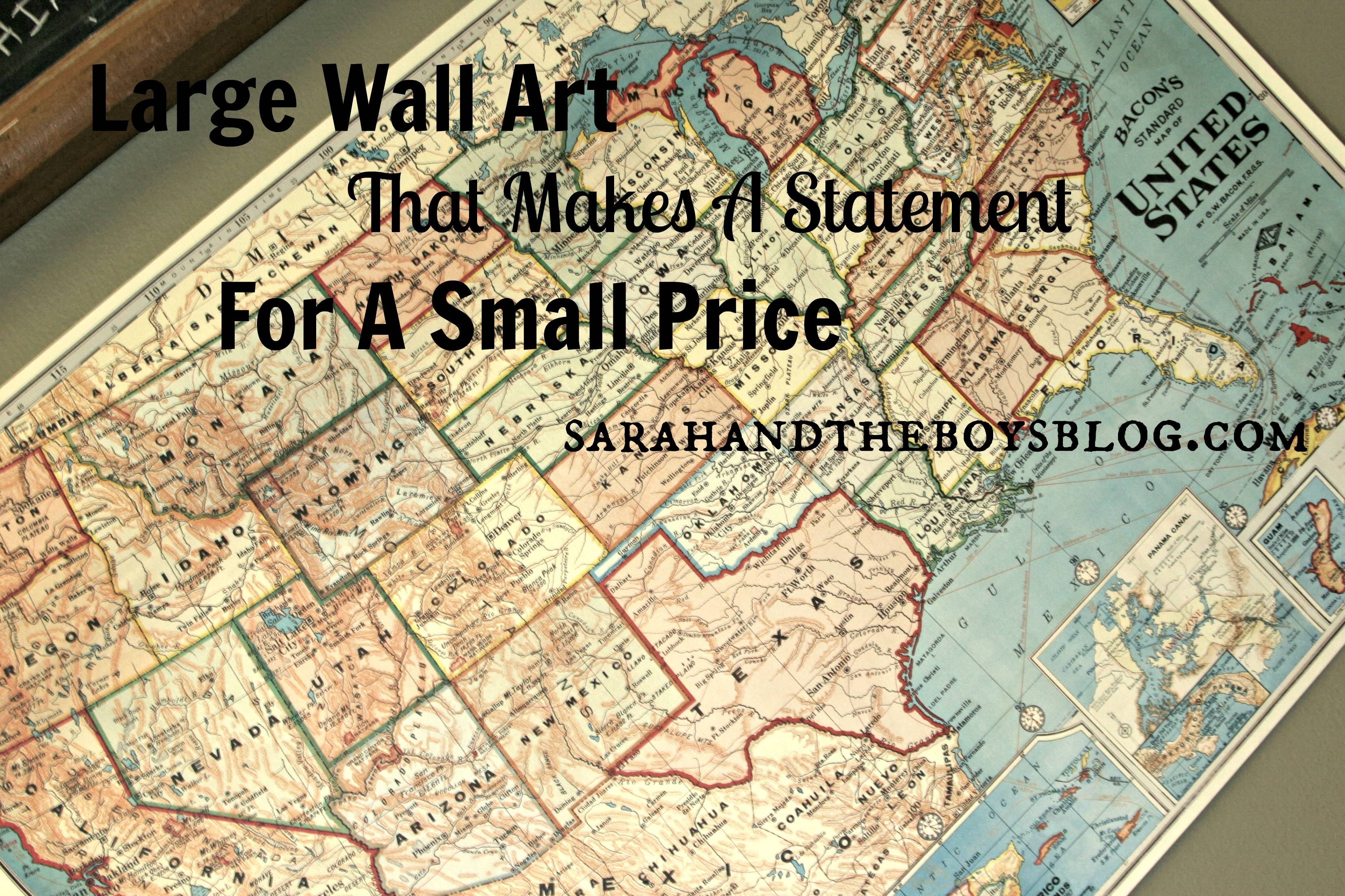 20 Ideas of Large Inexpensive Wall Art