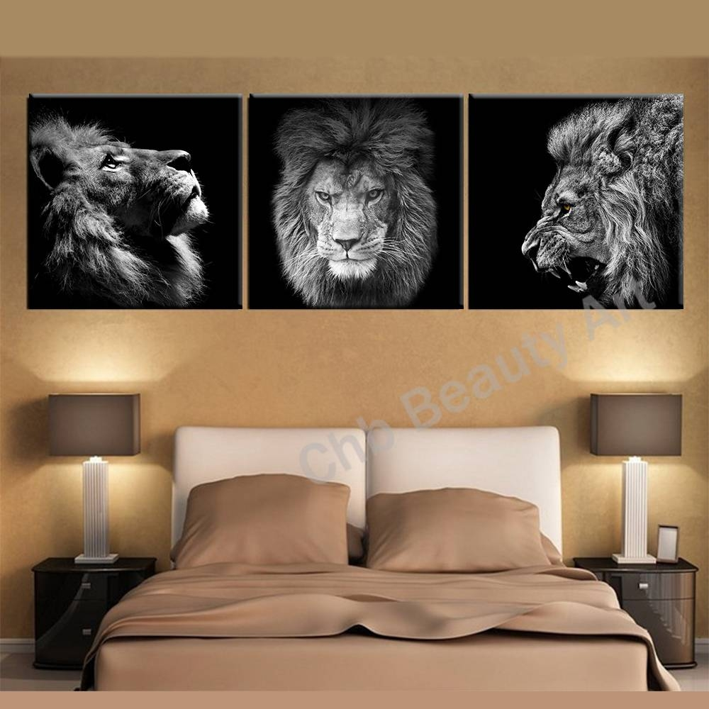 Inspiration 25+ Lion Wall Art Inspiration Design Of Decoration Inside Latest Lion Wall Art (Gallery 8 of 20)