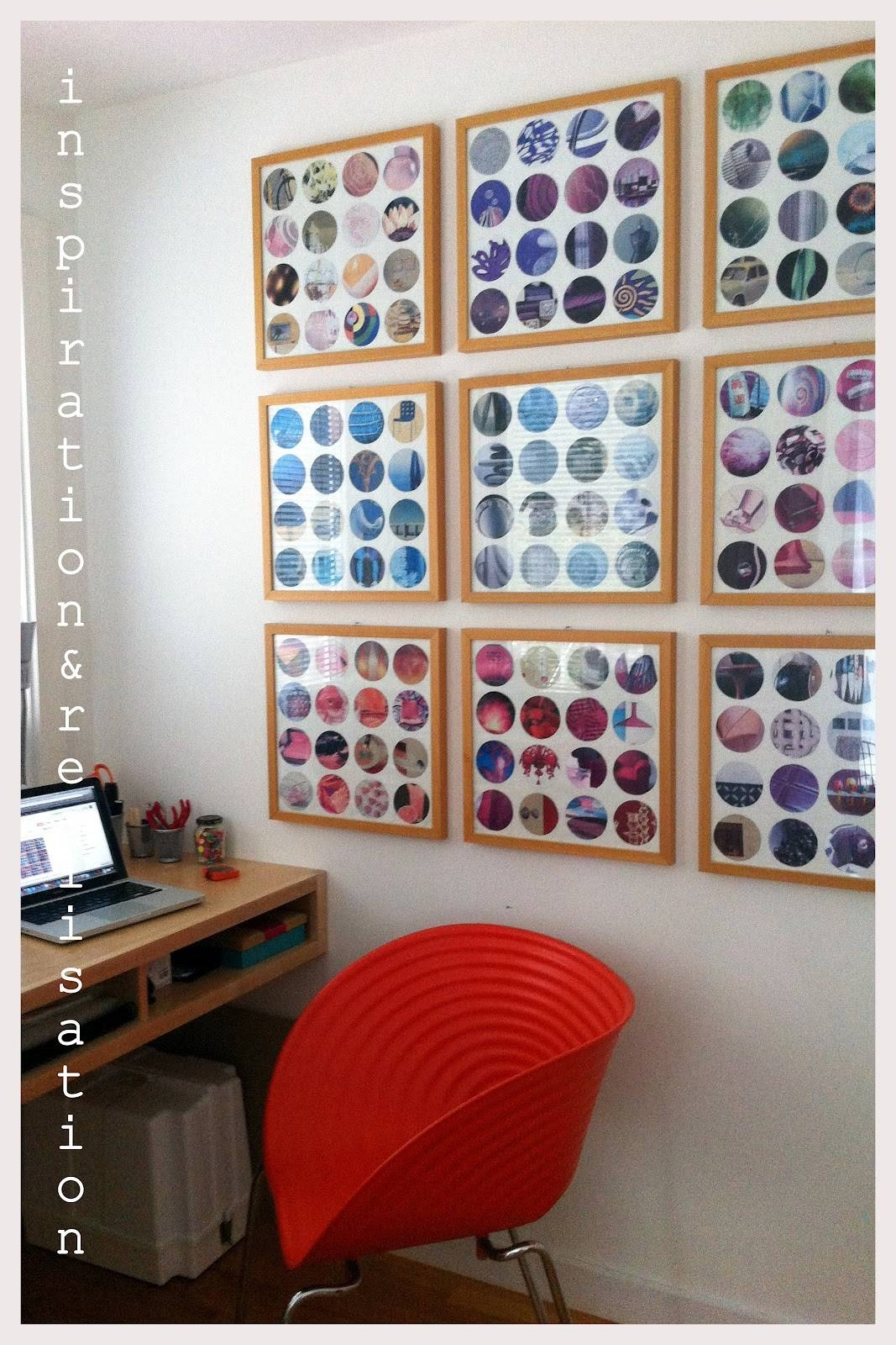 Inspiration And Realisation: Diy Fashion Blog: Diy Recycled Within Most Up To Date Recycled Wall Art (Gallery 9 of 30)